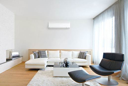 Merveilleux Mini Split At Home. Ductless AC. Energy Saving SEER